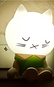 creatieve warm wit slaperige kat lichtsensor met betrekking tot kindje slaap 's nachts het licht