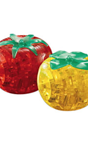 3d cristal blocos caqui quebra-cabeça DIY brinquedos educativos criativos brinquedos pequenos crianças