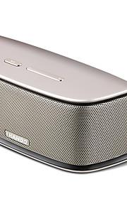 ikanoo mini altoparlante I-808 in metallo portatile senza fili Bluetooth stereo con funzione vivavoce, lettore di schede di tf