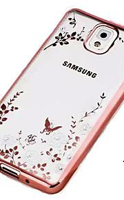 segreto giardino serie telefono TPU fasciame esterno per Samsung Galaxy Note 3 / nota 4/5 nota