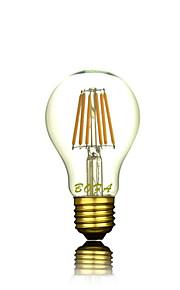 1 stuks NO E26 / E26/E27 5W 6 COB 200-500 lm Warm wit A60(A19) Dimbaar / Decoratief LED-bollampen AC 220-240 V
