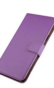 tirón de la caja protectora magnética de cuero genuino para lumia 950 caja del teléfono