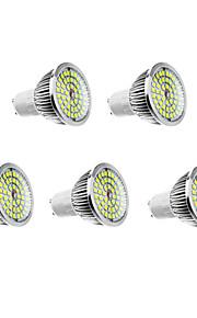 6W GU10 LED-spotpærer 48 610 lm Varm hvit / Naturlig hvit AC 100-240 V 5 stk.