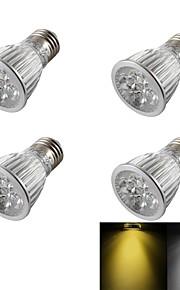 5W E26/E27 LED-spotpærer R63 5 Høyeffekts-LED 400 lm Varm hvit / Kjølig hvit Dimbar / Dekorativ AC 110-130 / AC 85-265 / AC 220-240 V4