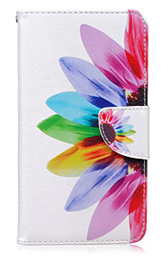 mønster kortet solsikke telefon hylster til Huawei ære 5x / bestige P9 / bestige P9 lite