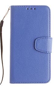 Per Samsung Galaxy Custodia Porta-carte di credito / Con supporto / Con chiusura magnetica Custodia Integrale Custodia Tinta unita