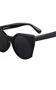 Solbriller kvinder's Retro/vintage / Mode Spejlet / 100% UV400 Katøje Sort / Sølv / Guld Solbriller Full-Rim