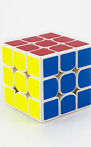 Rubiks kube IQ Cube Yongjun Tre Lag Hastighed / Professionel Level Glat Speed ​​Cube Magic Cube puslespil Regnbue ABS