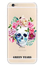 Kakashi litt frisk serie tpu maleri myk sak for iPhone 6s / 6/6-ere pluss / 6 pluss (flerfarget dekorasjoner)