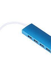 USB 3.0 4-Port / Schnittstelle USB-Hub slim 11 * 3 * 2