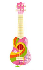 azul / verde / guitarra criança plástico rosa simulação para crianças acima de entrega aleatória 8 instrumentos brinquedo musical