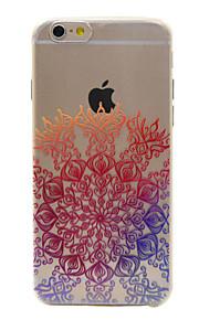 material de TPU padrão de flor telefone sorte para 6s iphone plus / 6 plus / 6s / 6
