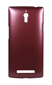 caso de la cubierta de pintura metálica de alta calidad para OPPO encontrar cáscara dura 7 teléfono