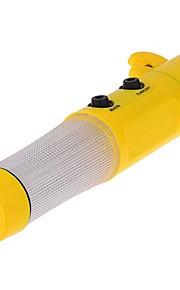 ZIQIAO Car Safety Hammer LED Flashlight Seatbelt Cutter Glass Breaker Car Rescure Tool