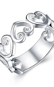 Dame Statement Ringe,Smykker Sølv / Hvid Moderigtig Bryllup / Party / Daglig / Afslappet Sølvbelagt 1pc,7 / 8