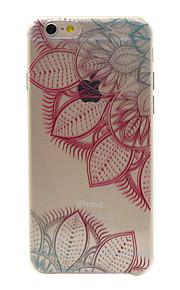 rosa material de TPU deixa caso padrão de telefone para 6s iphone plus / 6 plus / 6s / 6