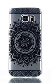 cassa del telefono del fiore del ricordo del modello TPU materiale per Galaxy S4 / s4mini / S6 / S6 bordo / bordo S6 plus / S7 / bordo s7