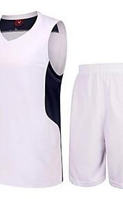 Men's Sleeveless Leisure Sports / Badminton / Basketball / Running Clothing Sets / Quick Dry /