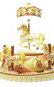 abs gul kreativ romantisk musik boks til gave