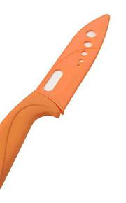 6 inch Stylish Ceramic Fruit Knife - 3 colors (Blue, Yellow, Orange)