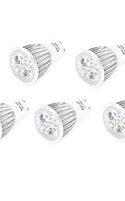 10W GU10 / E26/E27 LED-spotpærer MR16 5 Høyeffekts-LED 800 lm Varm hvit / Kjølig hvit Dekorativ AC 85-265 V 5 stk.