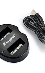 Kingma dupla usb carregador para canon lp-e17 bateria e Canon EOS 750D 760D m3