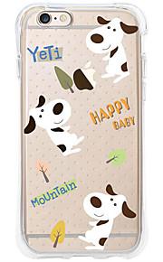 kakashi dierlijk patroon TPU schilderen airbag Hoogte- zachte hoes voor de iPhone 6s / 6 / 6s plus / 6 plus (hond)