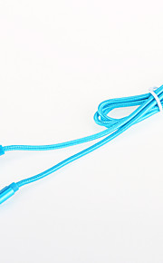 USB 2.0 Braided Aluminum Cables 100cm