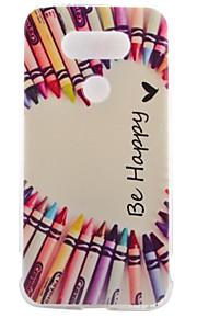 TPU materiaal half kleur pen kleur geschilderd patroon zachte telefoon geval voor asus zenfone lg g5
