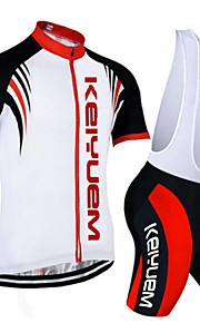 KEIYUEM®Others Short Sleeve Spring / Summer / Mountain Bike Cycling Clothing Bib Sets for Men/Women/ Breathable#36