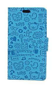 고급 작은 노파 피부 가죽 지갑은 노키아 루미아 650 케이스 (모듬 색상)를 플립 커버 스탠드