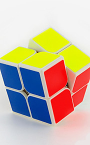 Rubiks kube IQ Cube Yongjun To Lag Hastighed Glat Speed ​​Cube Magic Cube puslespil Sort Fade / Ivory ABS