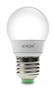 3W E26/E27 LED-globepærer G60 6 SMD 210-240 lm Varm hvit / Kjølig hvit Dekorativ AC 100-240 V 1 stk.