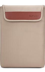 for MacBook Air / pro 11.6 '' 13.3 15.4 '' enkel fritid stil bærbare bag solid farge myk oxfordvevningen laptop sleeves universell