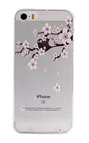 material de TPU lulas padrão caixa do telefone fino para iphone SE / 5s / 5