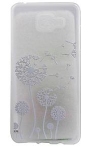 materiale TPU opaco confine tarassaco eccellente sollievo effetto di protezione delle coperture del telefono per la galassia A310 / A510
