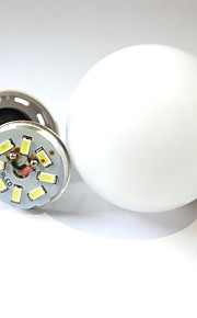 9W B22 / E26/E27 LED-globepærer Innfelt retropassform 38LED SMD 2835 600 lm Varm hvit / Kjølig hvit Dekorativ AC 220-240 V 1 stk.