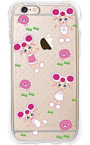 kakashi dierlijk patroon TPU schilderen airbag Hoogte- zachte hoes voor de iPhone 6s / 6 / 6s plus / 6 plus (schapen anne)