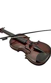 plástico violino criança simulação marrom para crianças acima de entrega aleatória 3 instrumentos de brinquedo musical