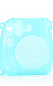 Mini 8 Instant Camera Case - Instax Mini 8 Transparent Case with Camera Shoulder Strap