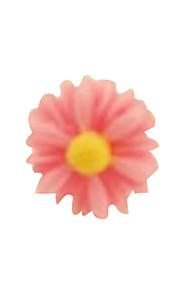 korea kreativa handgjorda harts prästkrage blomma headset damm plugg