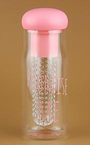700-800ml me prometer garrafa de água de plástico