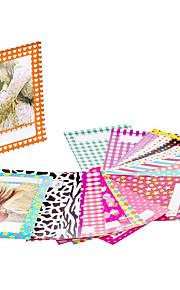 120 Sheets Colorful Photo Sticker Borders Films Sticker for FujiFilm Instax Mini 8 7s 25 50s 90