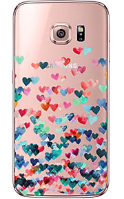 назад Ультра-тонкий Other TPU Мягкий Transparent Для крышки случая Samsung Galaxy S7 edge / S7 / S6 edge plus / S6 edge / S6