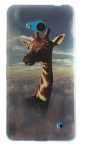 espalda IMD Other TPU Suave TPU+IMD Soft Case Cubierta del caso para Nokia Nokia Lumia 530 / Nokia Lumia 630 / Nokia Lumia 640
