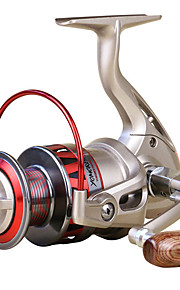Spinning Reels 5.5/1 10 Ball Bearings Exchangable Bait Casting / General Fishing-DF1000 Yumores