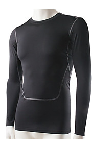 Course Shirt / Tee-shirt Homme Manches longues Respirable / Séchage rapide / Compression / Anti-transpiration Fitness / Course Sportif