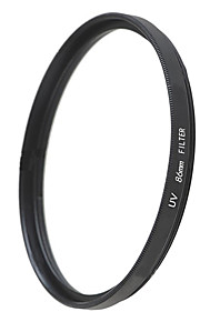 emoblitz 86 milímetros uv ultra-violeta lente filtro protetor preto