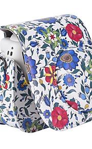 pu læder kamerataske taske med aftagelig skulderrem til Fujifilm instax mini 8 øjeblikkelig filmkamera