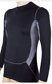Course Shirt / Tee-shirt Homme Manches longues Respirable / Séchage rapide / Compression / Anti-transpiration / Elastique Fitness / Course